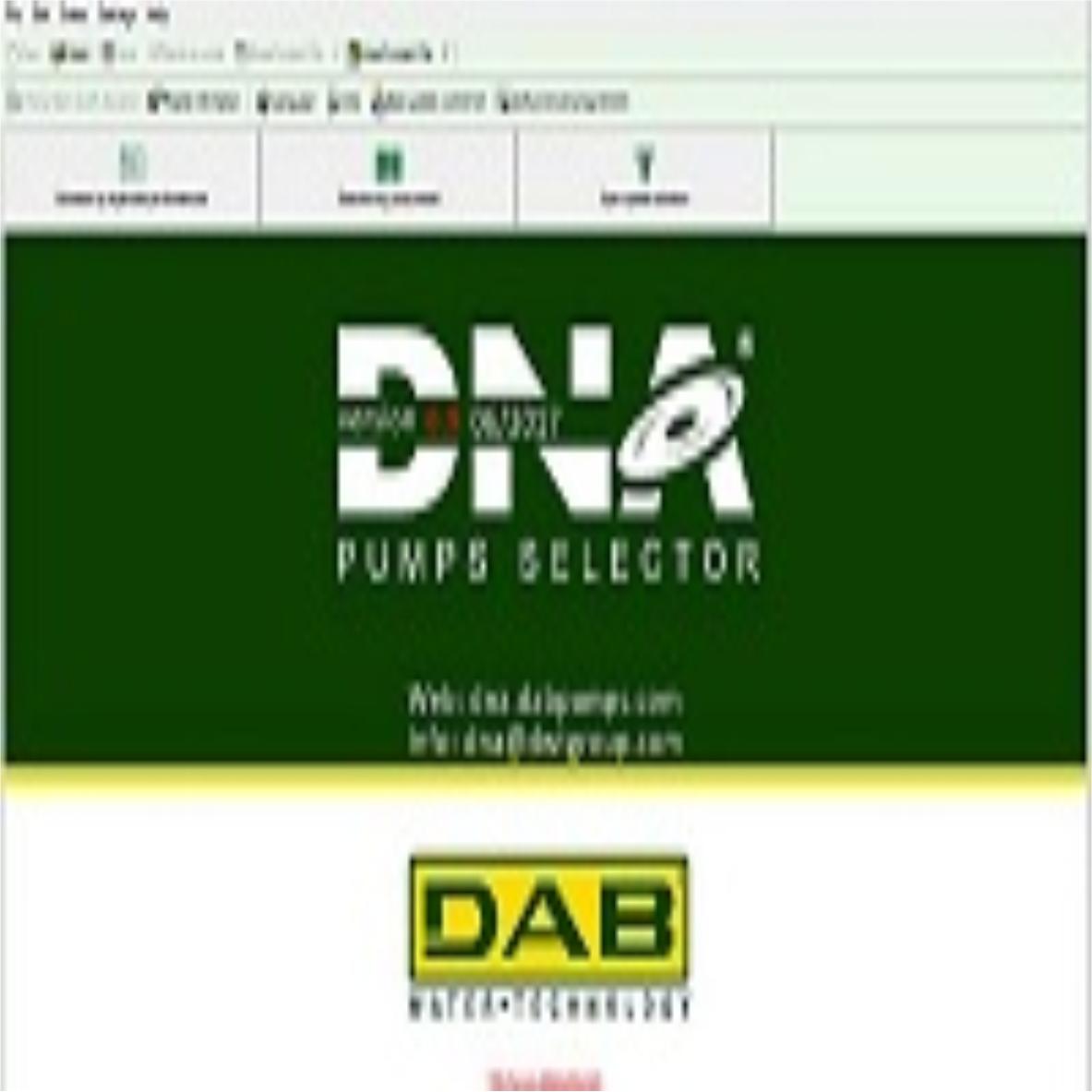 Download phần mềm chọn bơm DAB