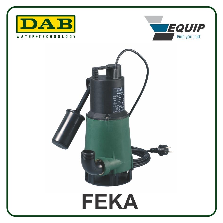 Bơm chìm nước thải-Feka 600 MNA-SV - Giá: 4,165,000