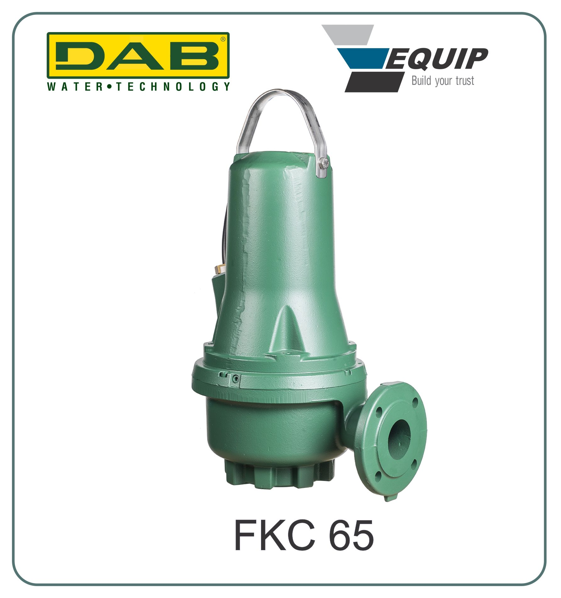 Industrial submersible pump DAB Grundfos FKC