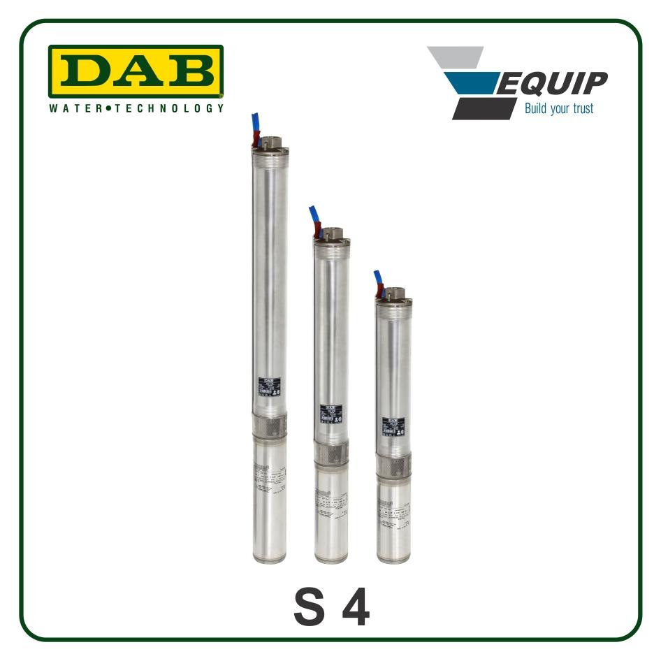 Bơm giếng khoan DAB - S4 F 7-T- Giá: 12,070,000