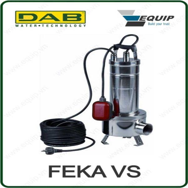 Bơm chìm nước thải - FEKA VS 550 T-NA - Giá: 7,055,000