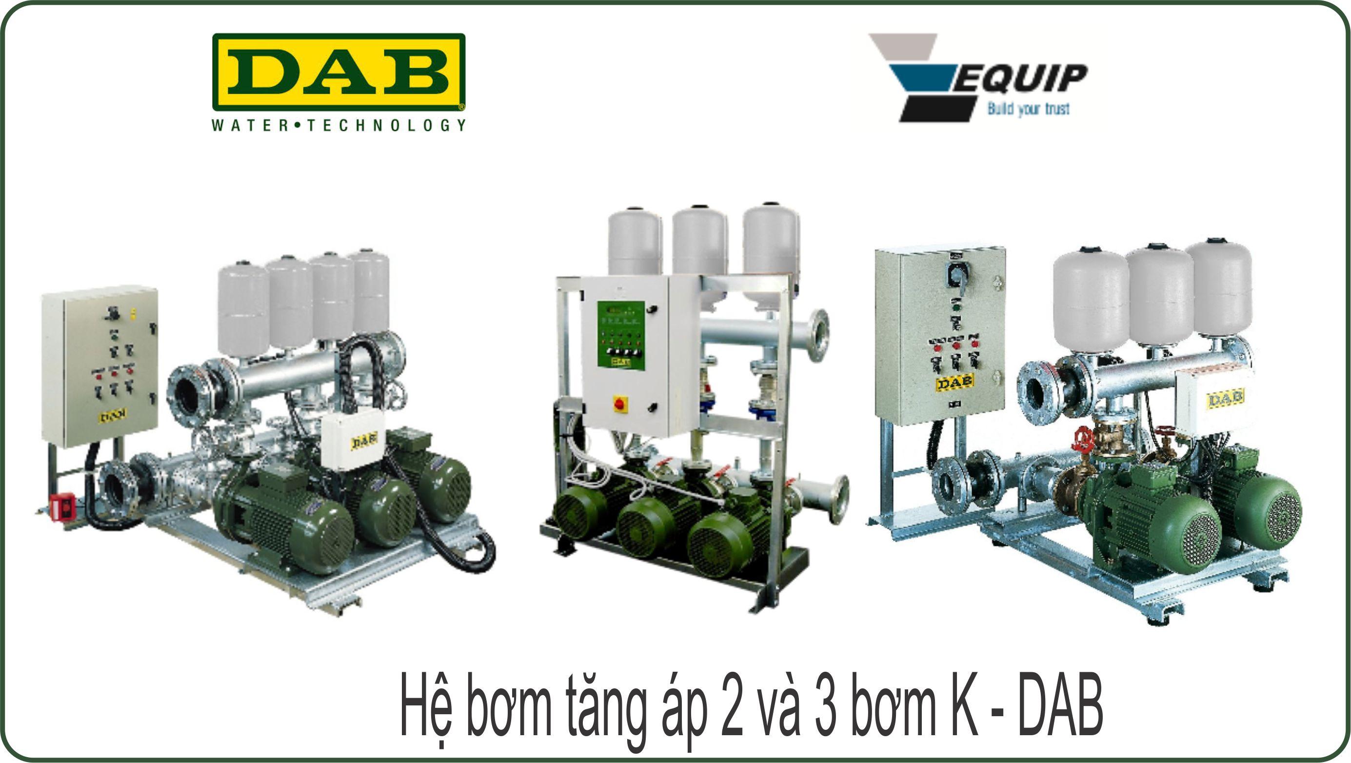máy bơm nước tăng áp công nghiệp dab grundfos