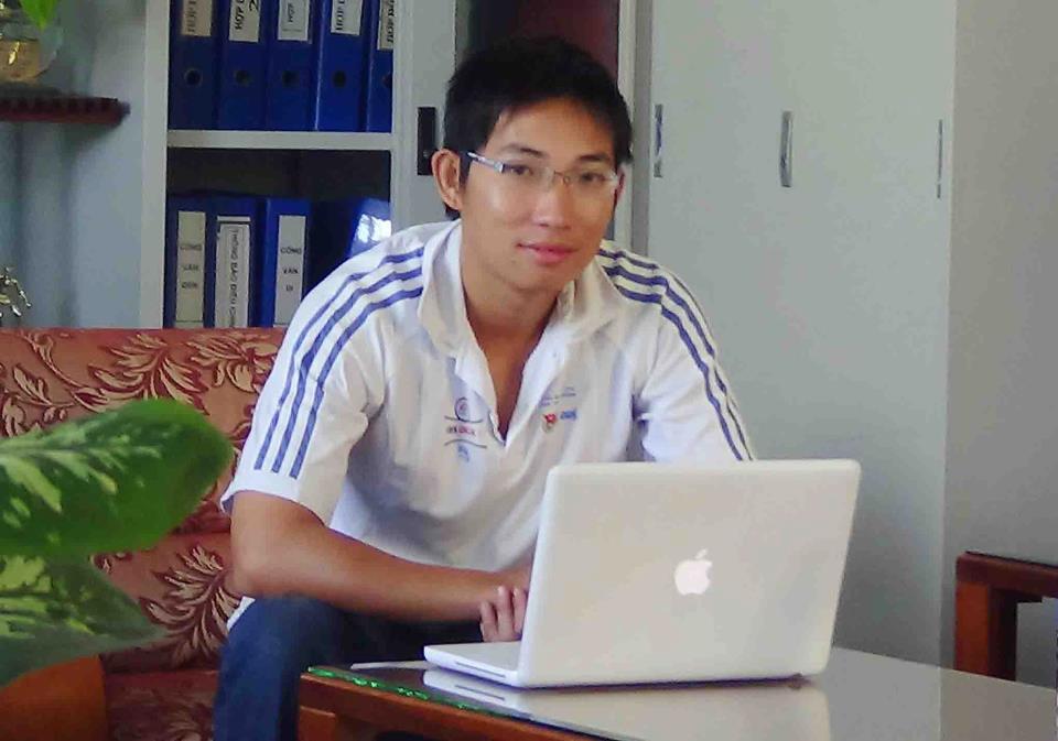 Mr. Trần Nguyễn Quang Minh - Nhân viên vật tư - Công ty TNHH TMDV TDTT Thành Long