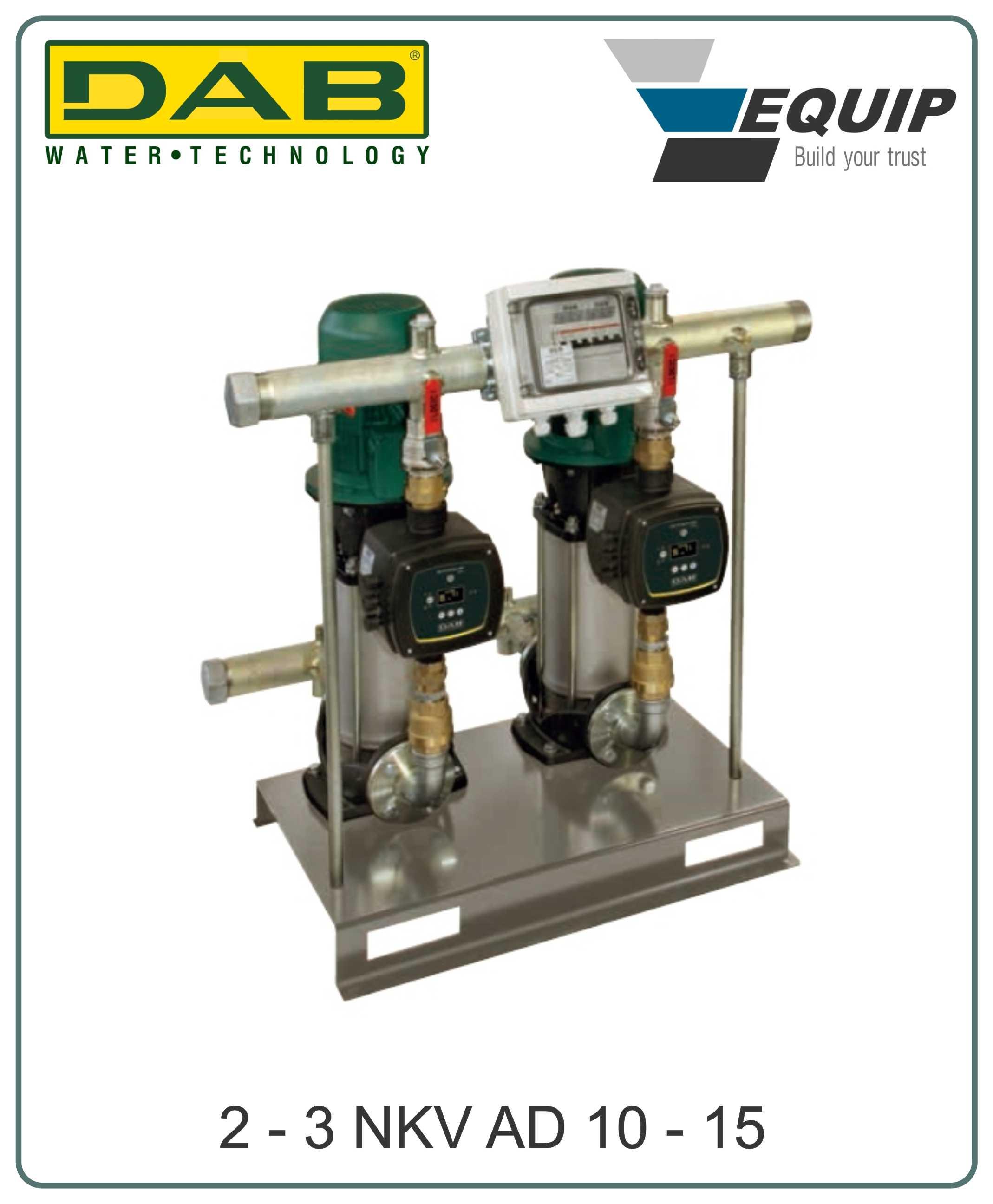 Hệ thống bơm nước tăng áp biến tần