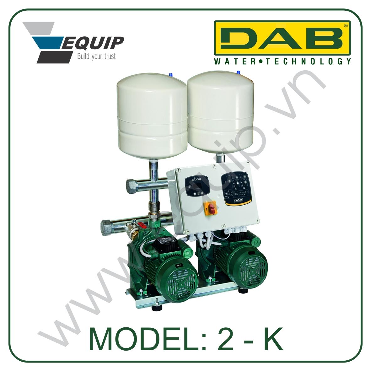 Hệ thống máy bơm nước tăng áp