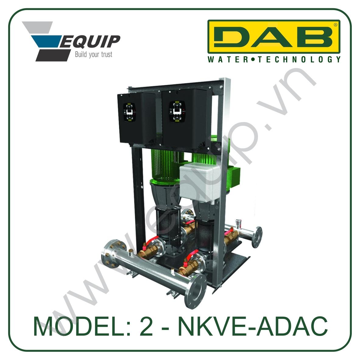 Hệ thống máy bơm tăng áp biến tần building