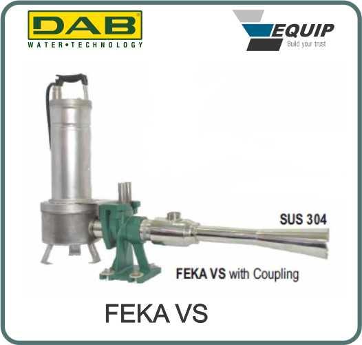 Máy sục khí chìm FEKA VS DAB Grundfos